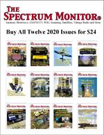 Buy all 12 2020 issues of The Spectrum Monitor